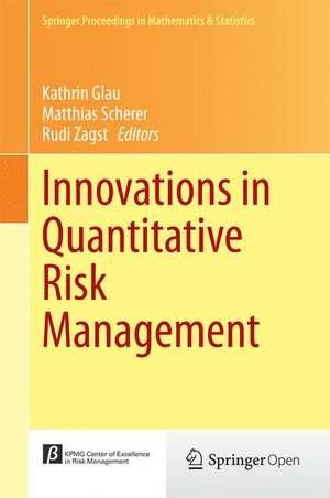 Innovations in Quantitative Risk Management: TU München, September 2013 de Kathrin Glau