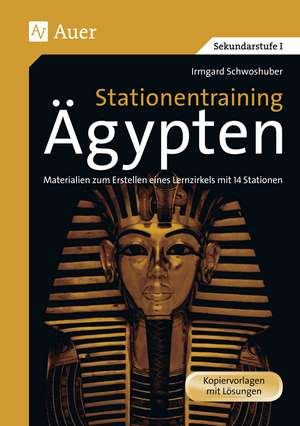 Stationentraining Ägypten de Irmgard Schwoshuber