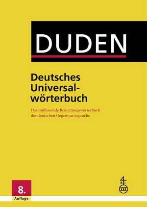 Duden - Deutsches Universalwoerterbuch