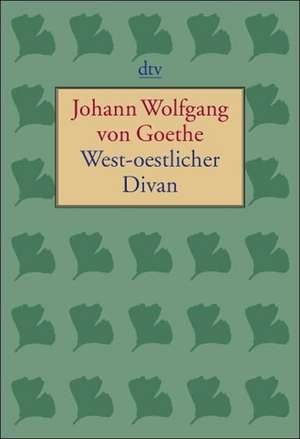 West-oestlicher Divan