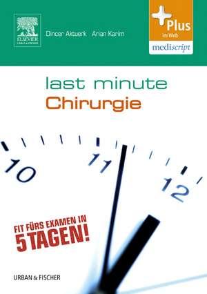 Last Minute Chirurgie