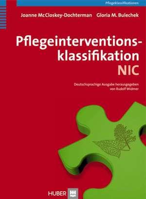Pflegeinterventionsklassifikation (NIC) de Joanne McCloskey-Dochterman