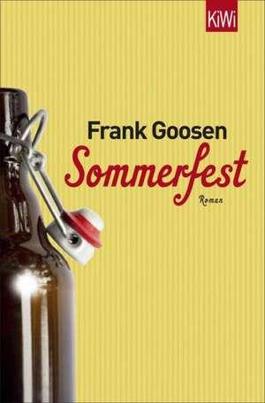 Sommerfest de Frank Goosen