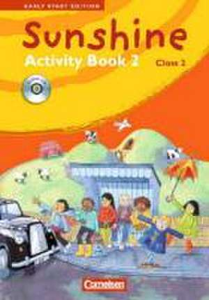 Sunshine - Early Start Edition 2. 2. Schuljahr Activity Book/CD
