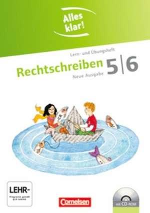 Alles klar! Deutsch. Sekundarstufe I 5./6. Schuljahr. Rechtschreiben inkl.CD-ROM