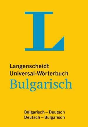 Langenscheidt Universal-Woerterbuch Bulgarisch