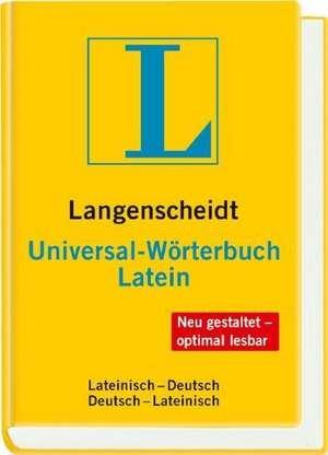 Langenscheidt Universal-Woerterbuch Latein