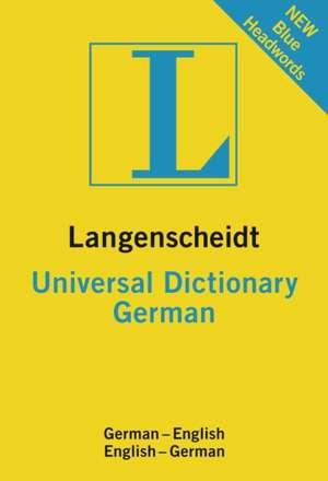 Langenscheidt Universal Dictionary