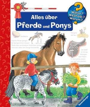 Alles über Pferde und Ponys de Andrea Erne
