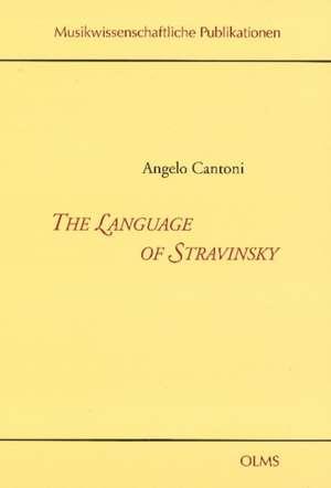 Language of Stravinsky