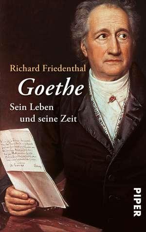 Goethe de Richard Friedenthal
