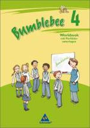 Bumblebee 4. Workbook mit Portfoliounterlagen fuer Englisch in Klasse 4