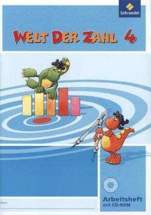 Welt der Zahl 4. Arbeitsheft mit CD-ROM. Ausgabe Nord