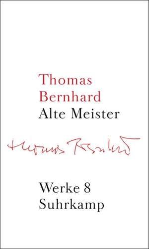 Werke 08. Alte Meister