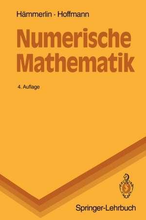 Numerische Mathematik de Günther Hämmerlin