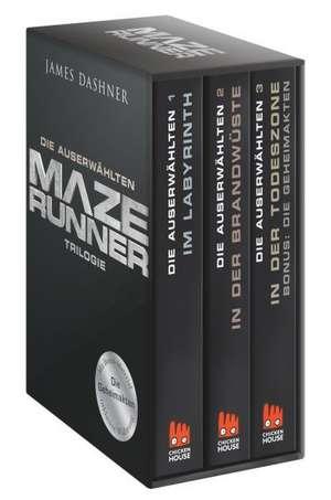 Maze Runner-Trilogie - Die Auserwählten de James Dashner