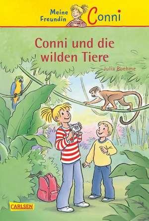 Meine Freundin Conni 23: Conni und die wilden Tiere