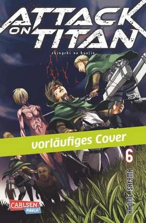 Attack on Titan 06 de Hajime Isayama