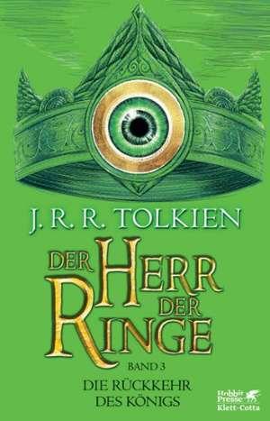 Der Herr der Ringe -  Die Rückkehr des Königs Neuausgabe 2012 de J. R. R. Tolkien