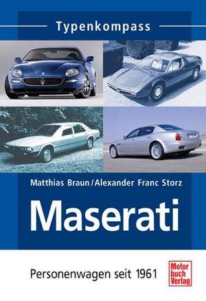 Typenkompass. Maserati de Matthias Braun