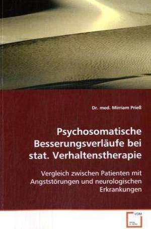 Psychosomatische Besserungsverlaeufe bei stat. Verhaltenstherapie
