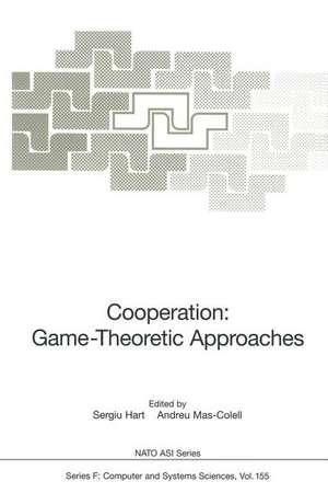 Cooperation: Game-Theoretic Approaches de Sergiu Hart