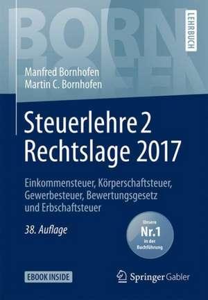Steuerlehre 2 Rechtslage 2017