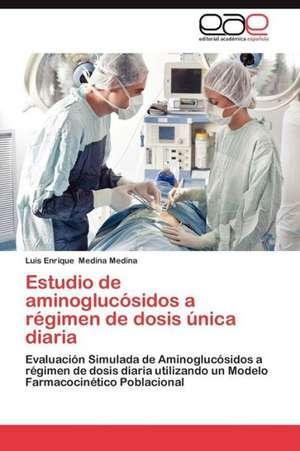 Estudio de Aminoglucosidos a Regimen de Dosis Unica Diaria