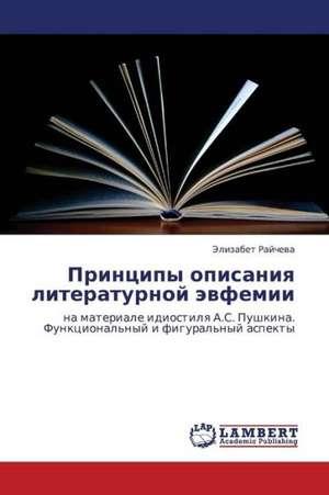 Printsipy opisaniya literaturnoy evfemii de Raycheva Elizabet