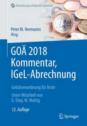 GOAE 2018 Kommentar, IGeL-Abrechnung
