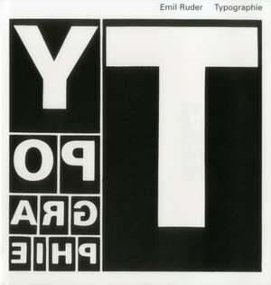 Typography:  A Manual of Design de Emil Ruder