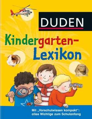 Duden - Kindergarten-Lexikon de Christina Braun