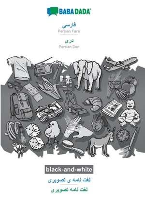 BABADADA black-and-white, Persian Farsi (in arabic script) - Persian Dari (in arabic script), visual dictionary (in arabic script) - visual dictionary (in arabic script) de  Babadada Gmbh