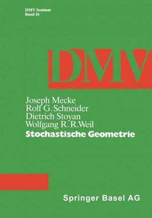 Stochastische Geometrie de J. Mecke