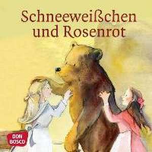Schneeweißchen und Rosenrot. Mini-Bilderbuch. de Brüder Grimm