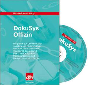 DokuSys Offizin. Version 2009. Windows Vista; XP; NT, 2000; 98