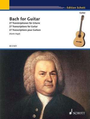 Bach for Guitar de Johann Sebastian Bach
