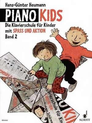 Piano Kids 2 de Hans-Günter Heumann