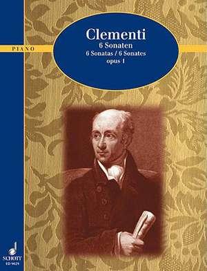 6 Sonatas, Op. 1:  Piano Solo de Muzio Clementi
