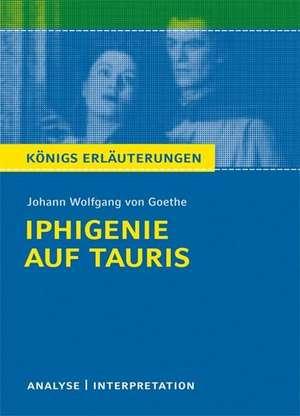 Iphigenie auf Tauris. Textanalyse und Interpretation de Johann Wolfgang von Goethe
