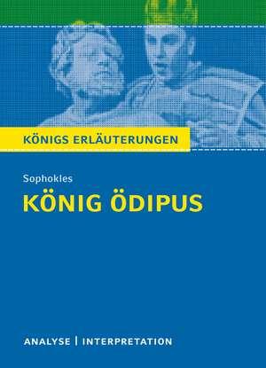 Koenig OEdipus von Sophokles.