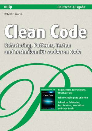 Clean Code - Deutsche Ausgabe imagine