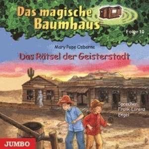 Das magische Baumhaus 10. Das Raetsel der Geisterstadt. CD