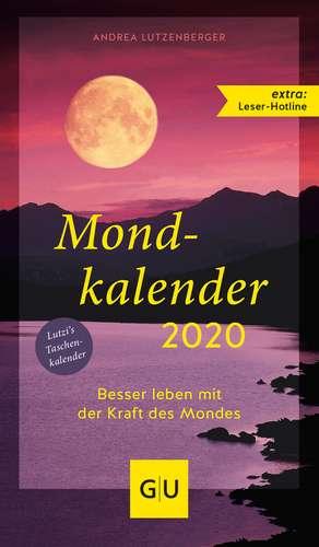 Mondkalender 2020 de Andrea Lutzenberger