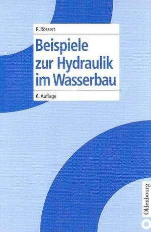 Beispiele zur Hydraulik im Wasserbau de Robert Rössert