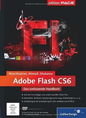 Adobe Flash CS6 de Nick Weschkalnies