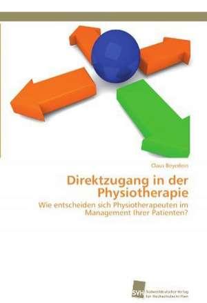 Direktzugang in Der Physiotherapie