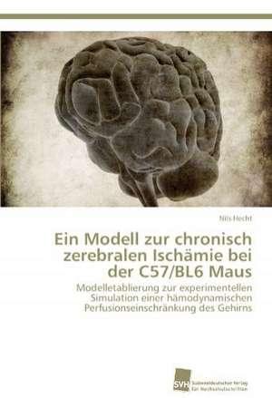 Ein Modell Zur Chronisch Zerebralen Ischamie Bei Der C57/Bl6 Maus