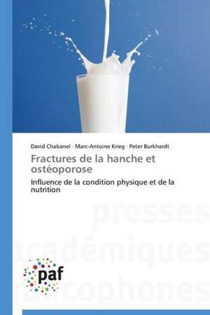 Fractures de la hanche et osteoporose