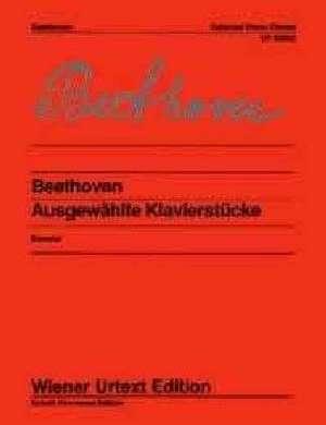 Ausgewählte Klavierstücke de Ludwig van Beethoven